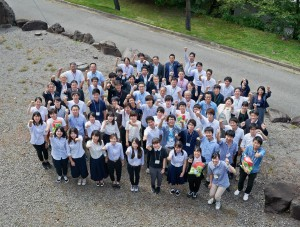 昨年最終日の記念写真(平成28年9月3日、JA長野県総合研修所にて)